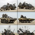 Cars of Mad Max: Fury Road
