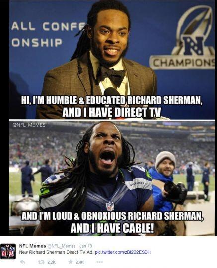 Direct TV vs Cable - meme