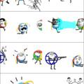 la vie d'internet en 10s...(Firefox/Chrome/Spartan/Microsoft)