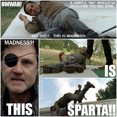 THIS IS THE WALKING DEAD!!!!!! - meme