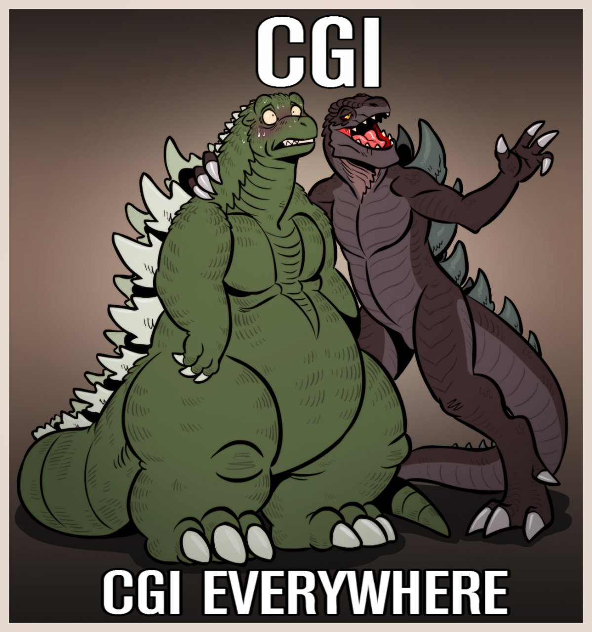 CGI IS EVERYWHERE MANG - meme