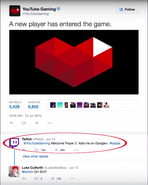 Youtube Gaming needs some ice for that burn - meme