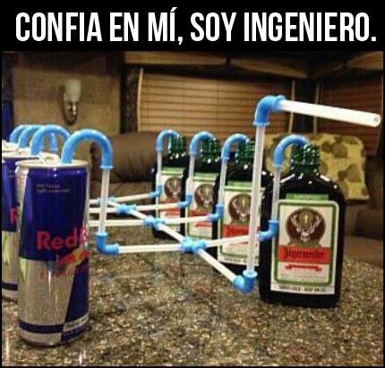 ingeniero ingenioso  - meme
