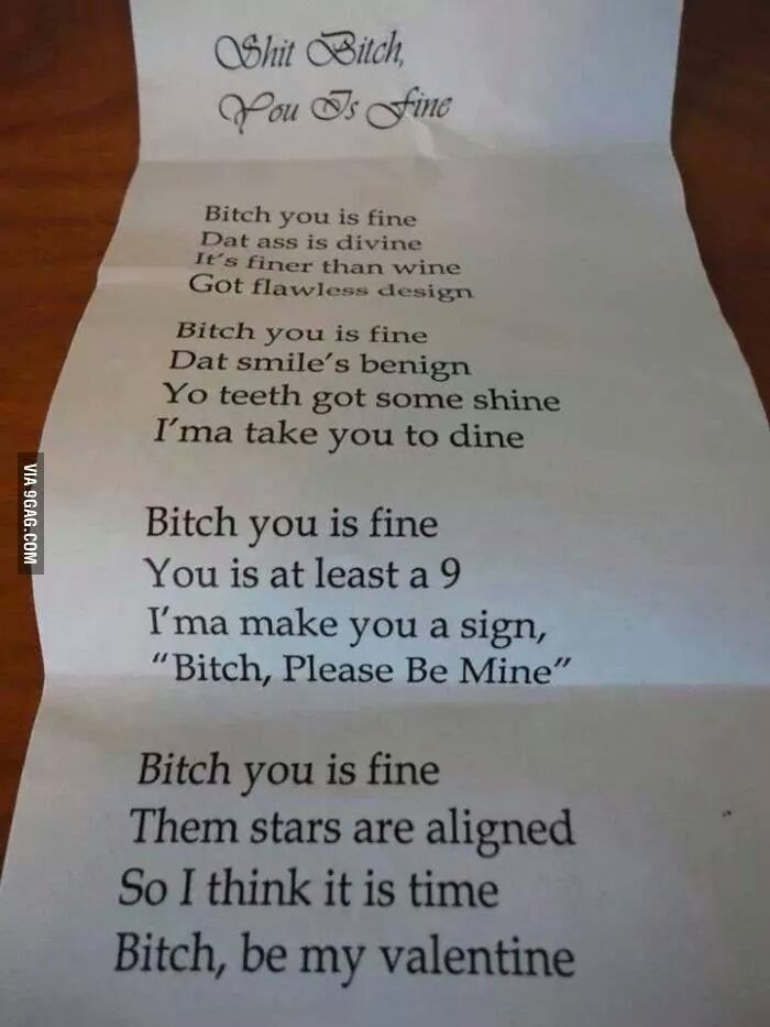 bitch be mine - meme
