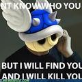 Danm blue shells