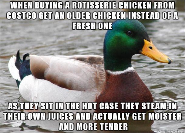 Costco Chicken - meme