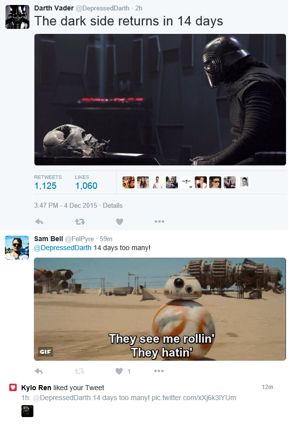 Dark Side Support - meme