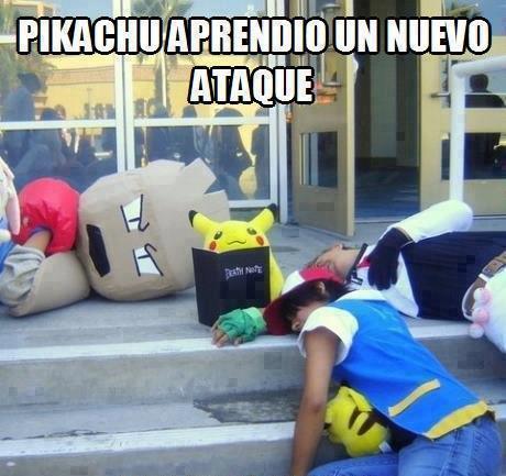 Pikachu nos destruirá a todos!  - meme