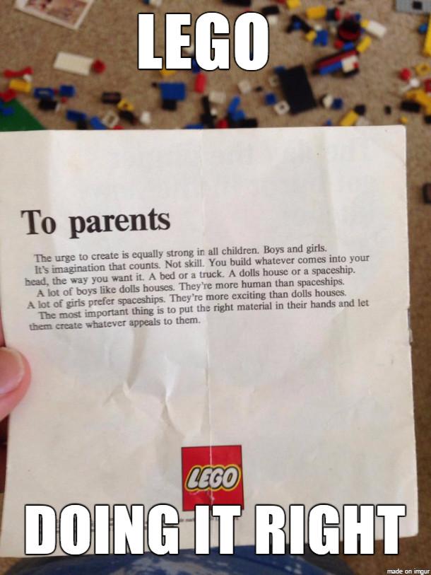 Good Guy Lego - meme