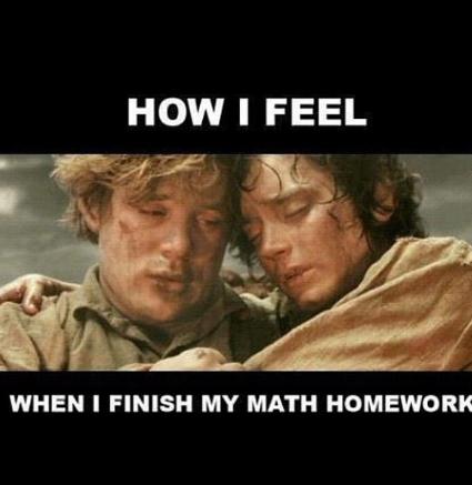 i hate math-_- - meme