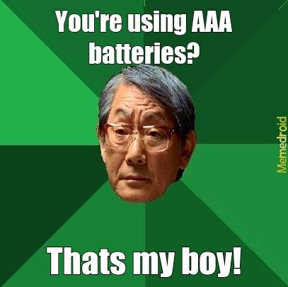 AAA batteries - meme