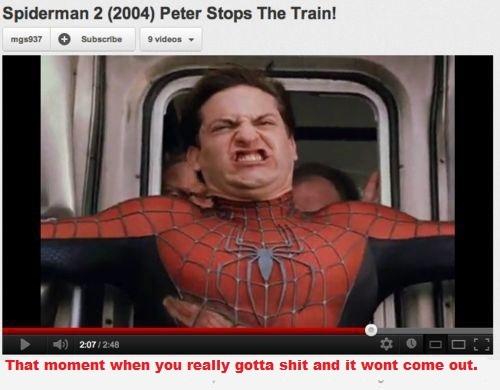 Spoooooderman - meme