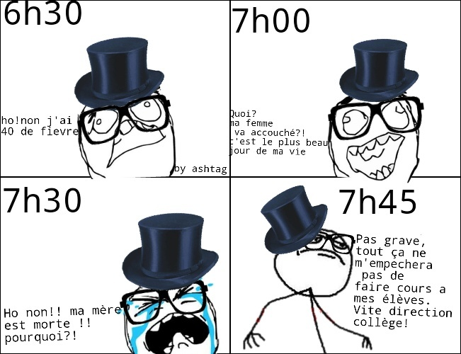 on a tous un prof comme ça - meme