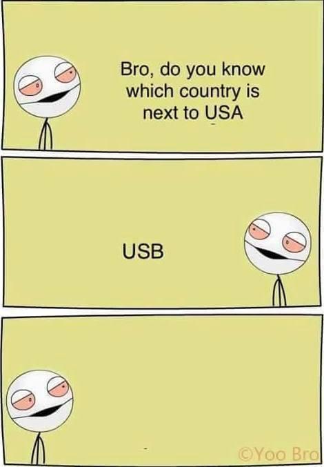 USB - meme