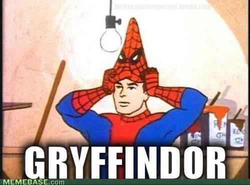 Gryffondor !!!!!!!!!!!!! - meme