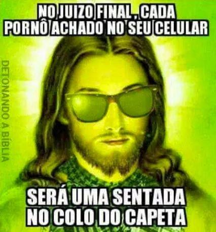 SAIA DEÇA MAL DE SÃO! - meme