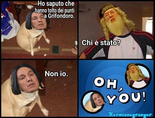 Oh, you! - meme
