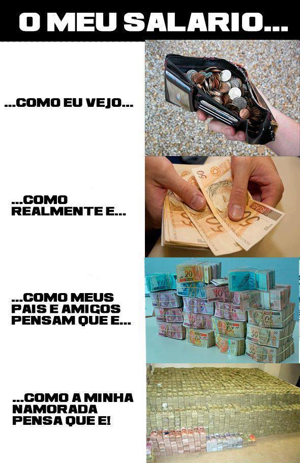 o meu salario - meme