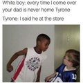 Tyrone Knows.