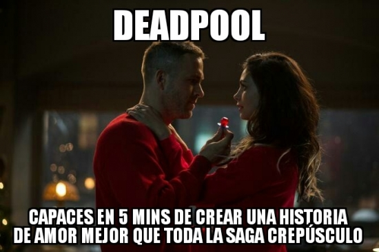 DEADPOOL ;V - meme