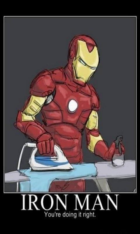 iron man - meme