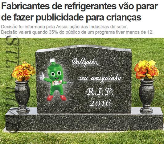 R.I.P. Dollynho - meme