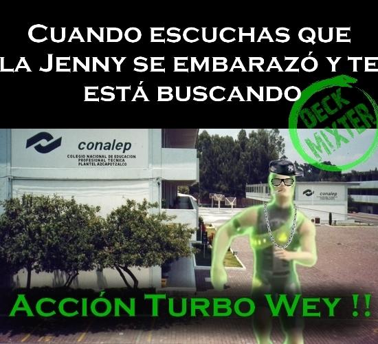 El titulo se va a esconder de la Jenny - meme