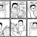 Bon beh (et pas Bombay), au lit...