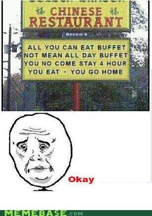 Chinese food - meme