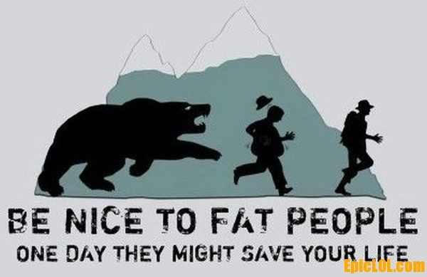 fat people save the day - meme