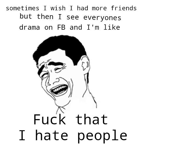 fb drama - meme