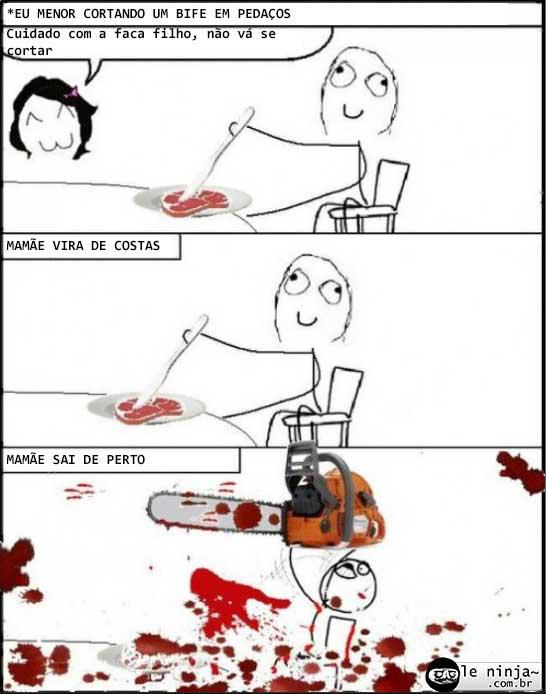 cortando - meme