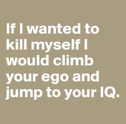 Lego your ego - meme