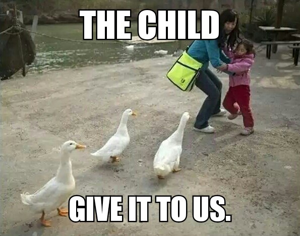 The children are first... - meme