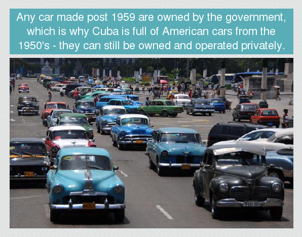 Cuba - Home of old-timers - meme
