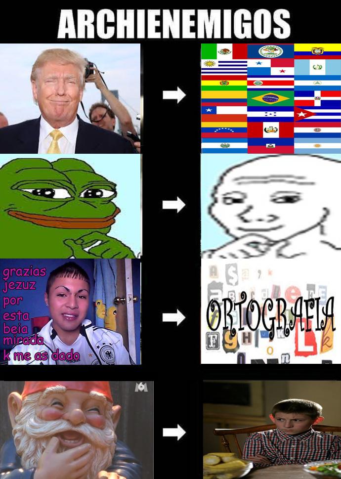 Enemigos hasta el final!! >:v - meme