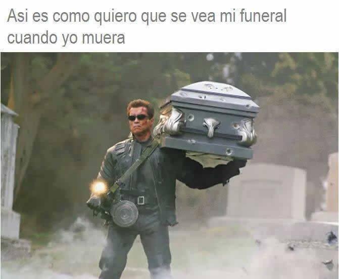 Mi funeral - meme