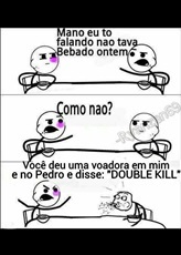 DOUBLE KILL - meme