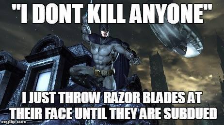 Oh Batman... - Have a nice day! - meme