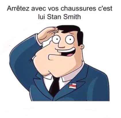 Stan Smith - meme