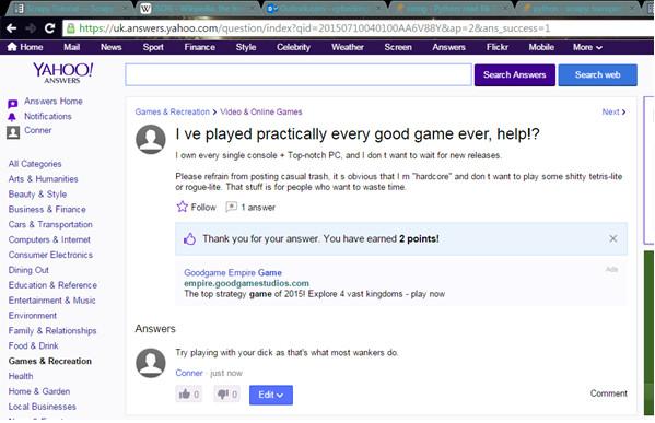 Oh Yahoo answers.... - meme