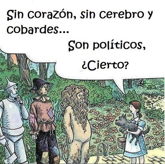 Deben de ser politicos - meme
