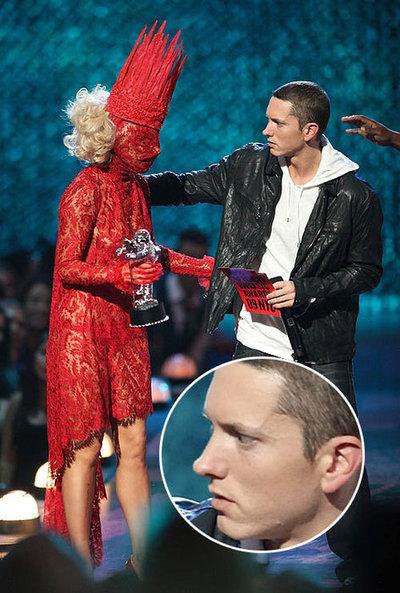 Eminem y lady gaga - meme