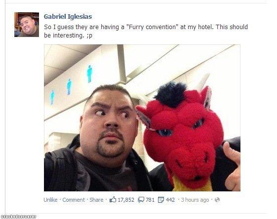 Gabriel's face is priceless! - meme