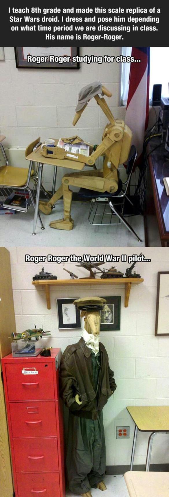 Roger Roger - meme