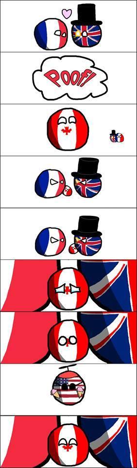 L'Histoire du Canada - meme