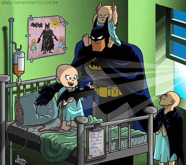 Batman O HERÓI  - meme