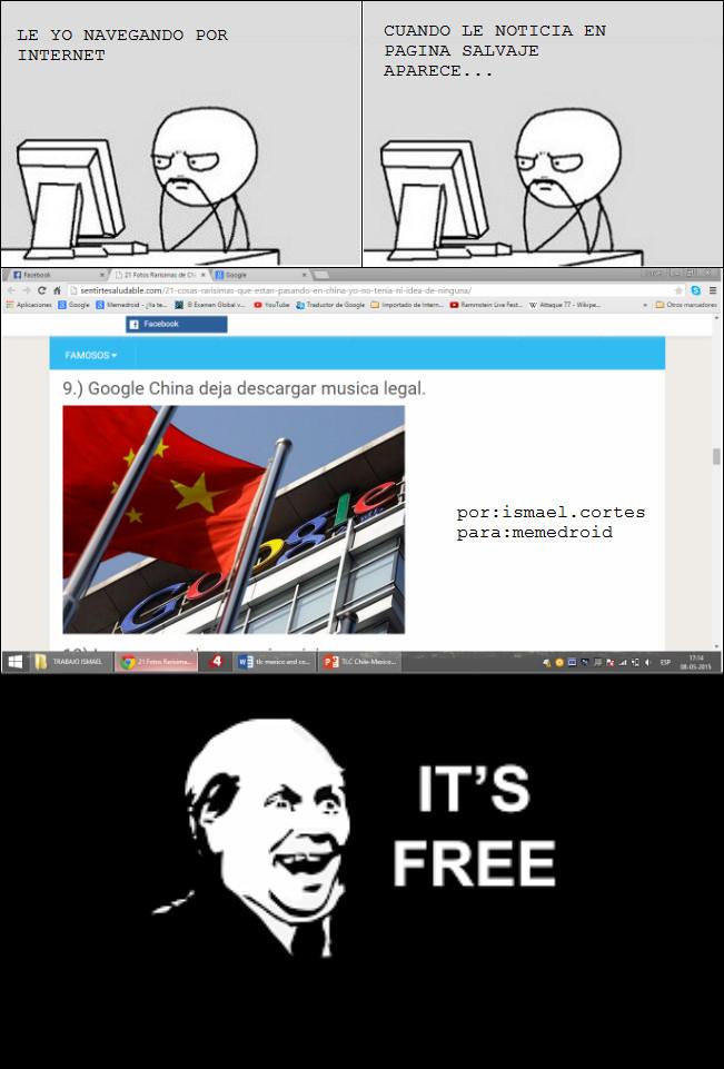 gratiss, y legal it's free - meme
