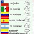 Nadie se tarda mas para insultarte que los colombianos