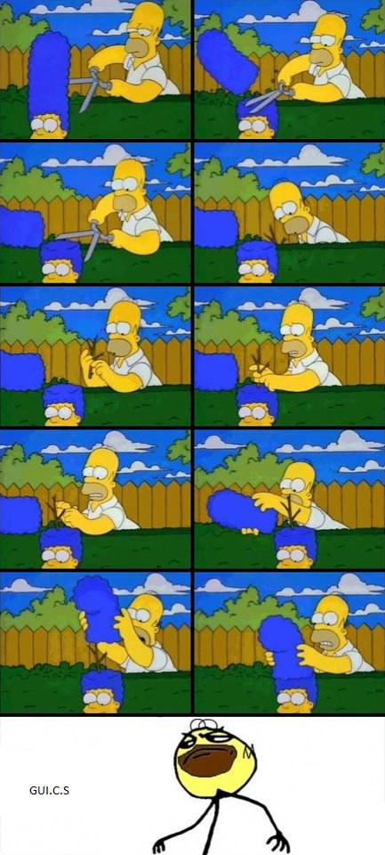 Homer e suas cagadas kkkk - meme